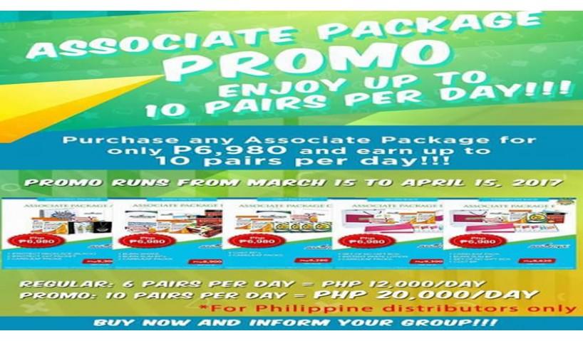 Associate Package Promo