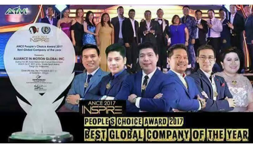 Alliance In Motion Global Asian Networkers' Convention and Expo  Awards