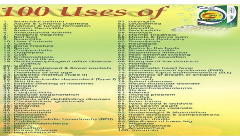 100 Uses Of C24