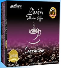 Liven Alkaline Coffee  Cappuccino